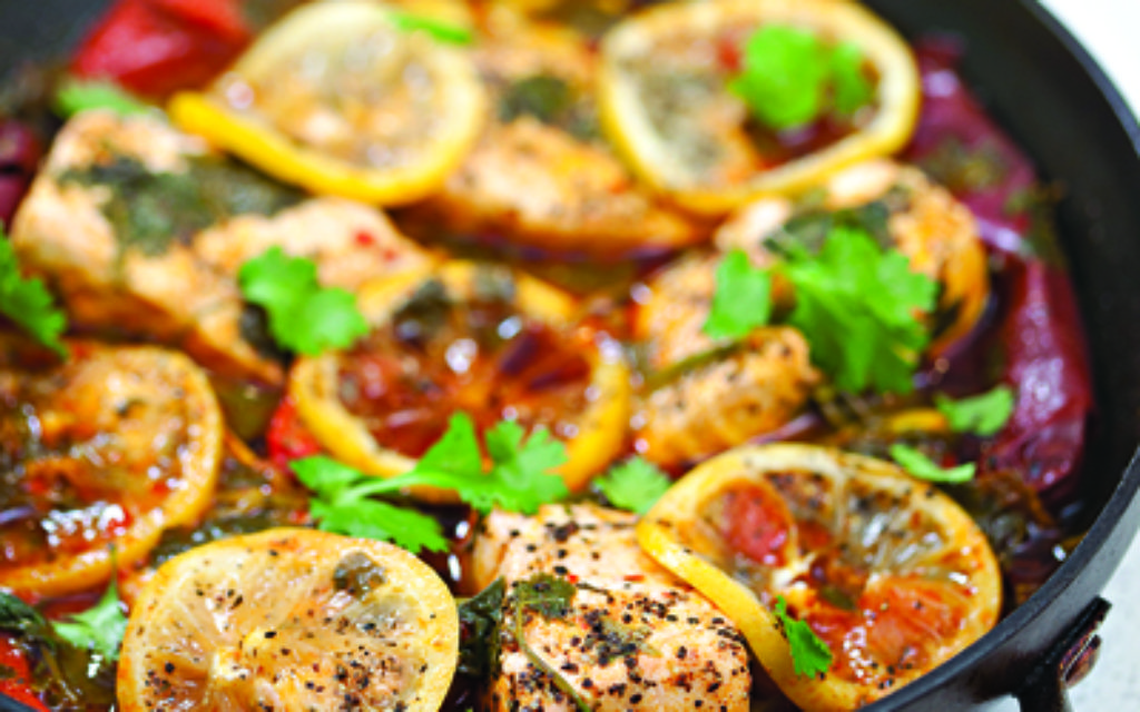 Beth's healthy Moroccan Fish recipe. Photo: Meir Pliskin