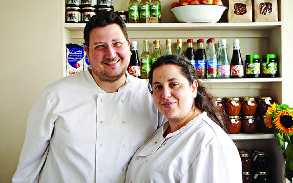 Itamar Sruloivch and Sarit Packer