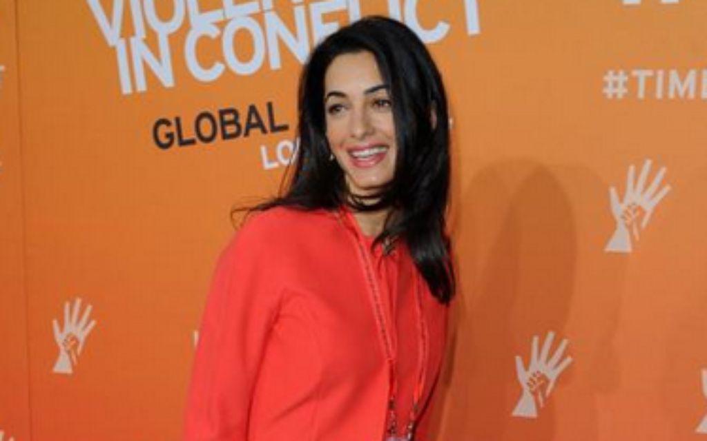 George Clooney's fiancé Amal Alamuddin is a top human rights lawyer