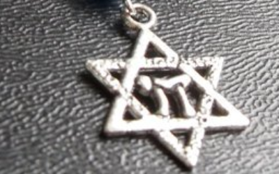 A Star of David necklace