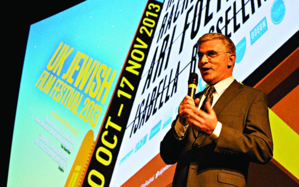 Israel's ambassador to the UK, Daniel Taub, addresses the 2013 festival