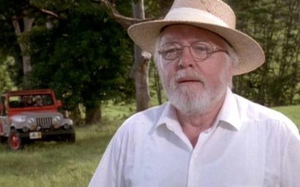 Lord Attenborough in Jurassic Park.