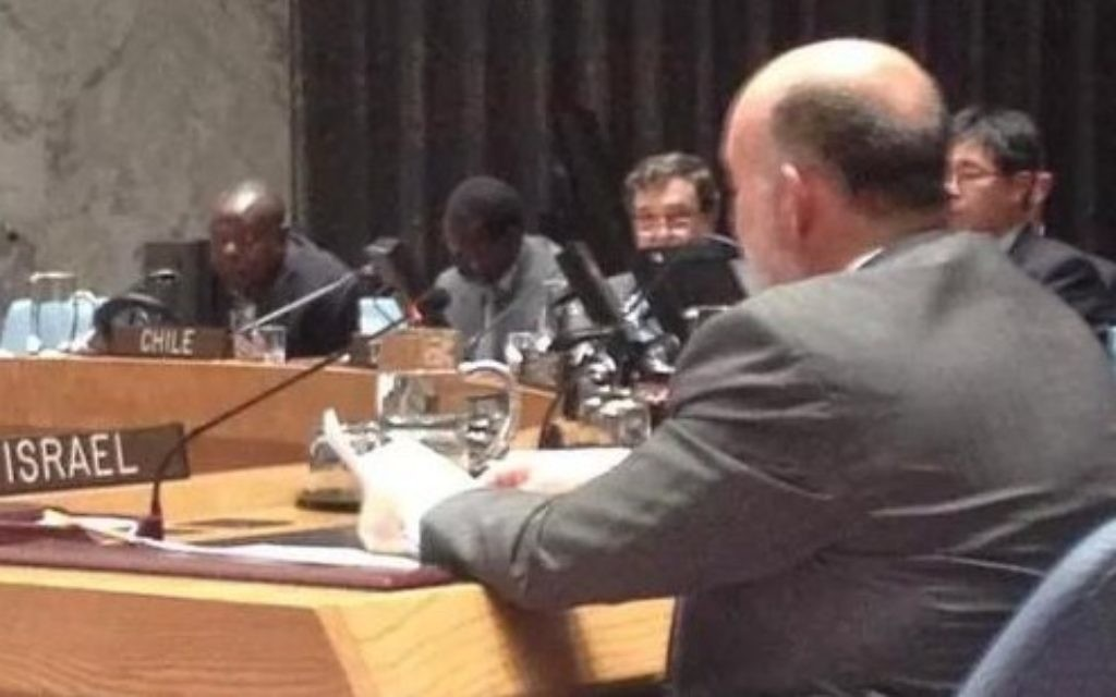 """Amb. Prosor:  said that A global crisis requires a global response"""""""
