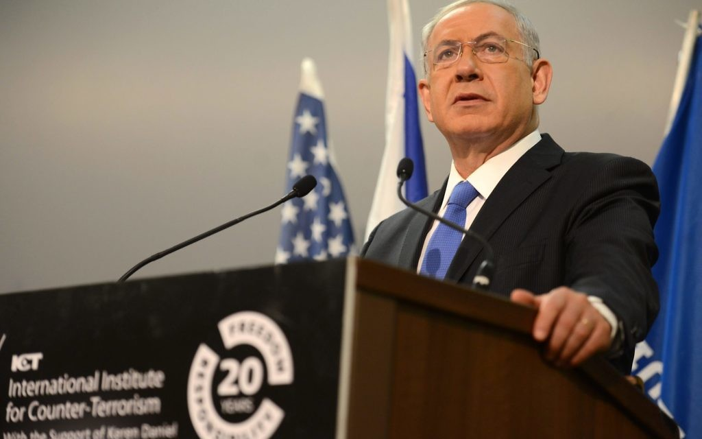 Netanyahu: Too right-wing for some, not right enough for others.