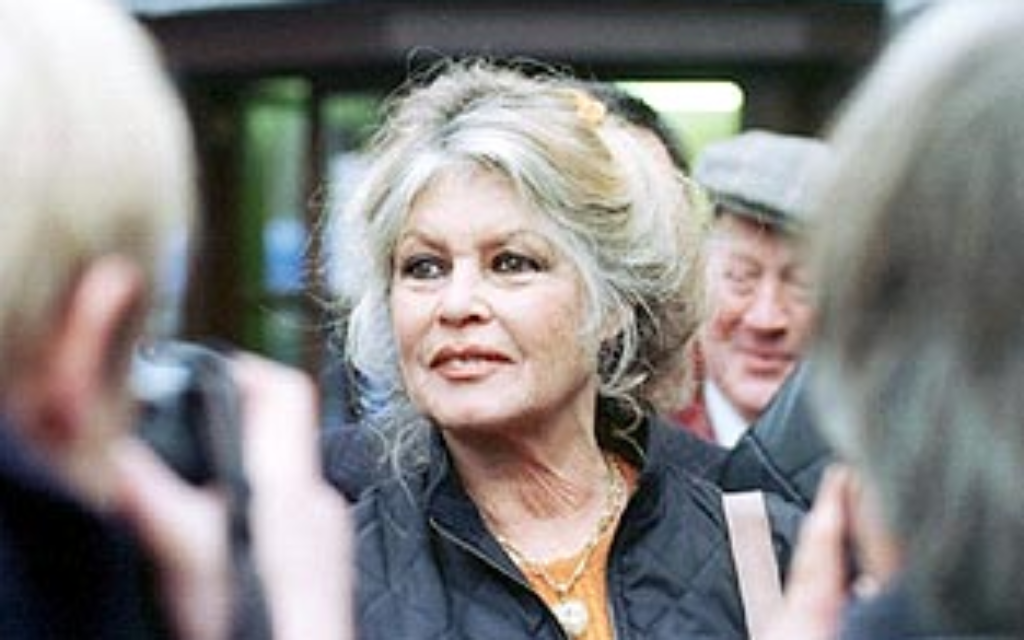 Hollywood starlet Brigitte Bardot has offended Jewish leaders
