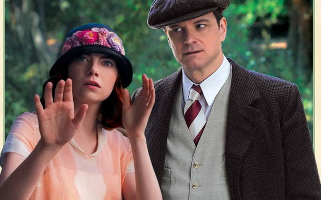 Emma Stone and Colin Firth star in Woody Allen's latest film.