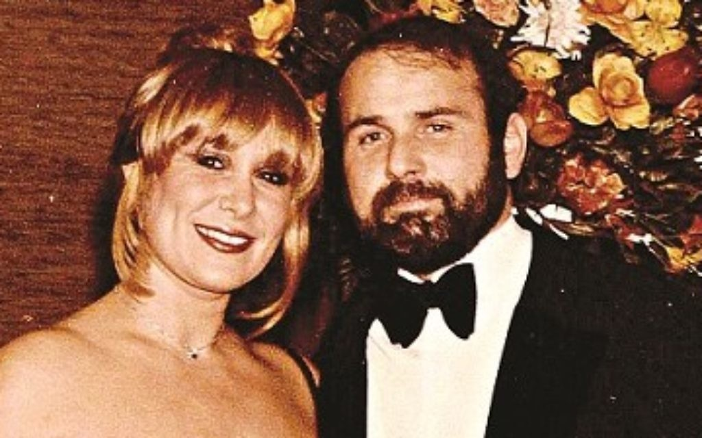 Carole Grant and her late husband, Geoffrey