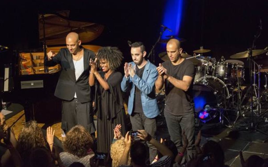 Idan Raichel (left) and his talented band