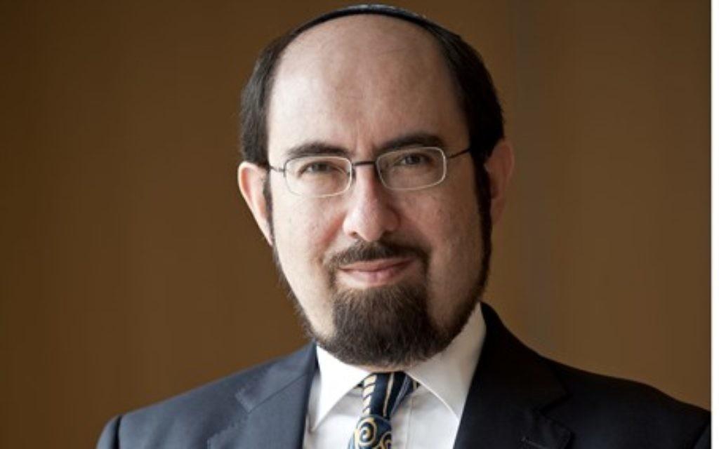 Jonathan Miller, JFS headteacher.