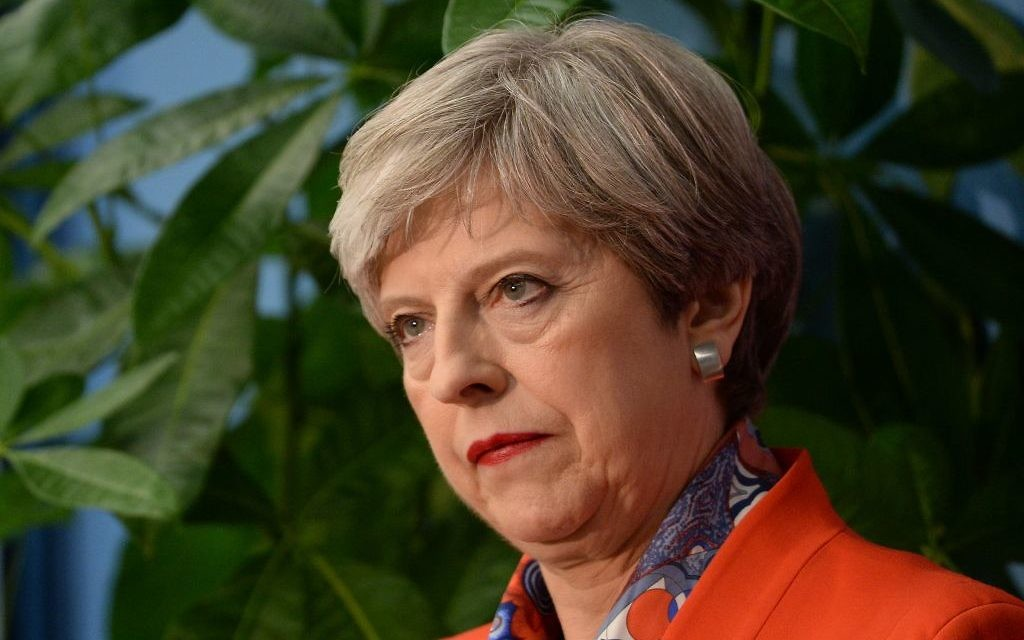 Prime Minister Theresa May he