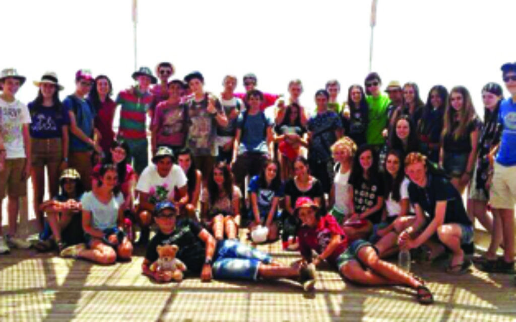 An Israel tour group