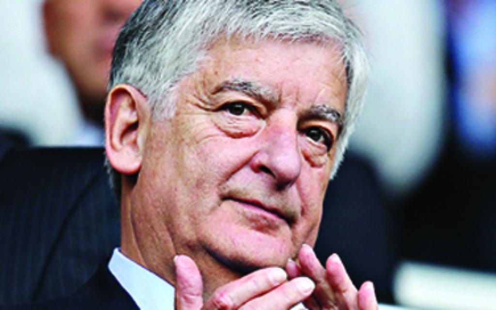 Former FA Chairman David Bernstein.
