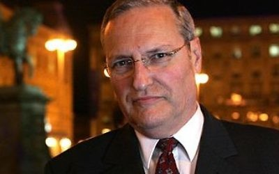 Dr. Efraim Zuroff, The Simon Wiesenthal Centre's leading Nazi hunter