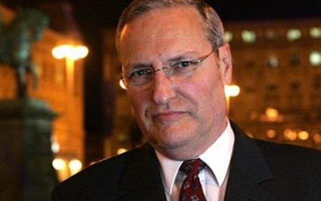 Dr. Efraim Zuroff, The Simon Wiesenthal Centre's top Nazi hunter
