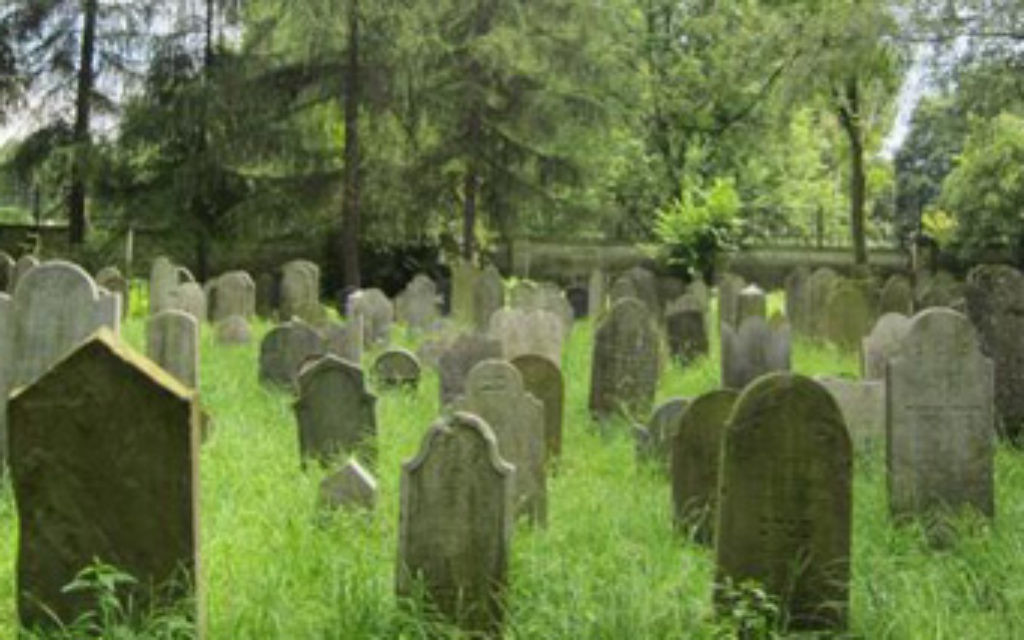 A Jewish cemetery in Poland, Oświęcim