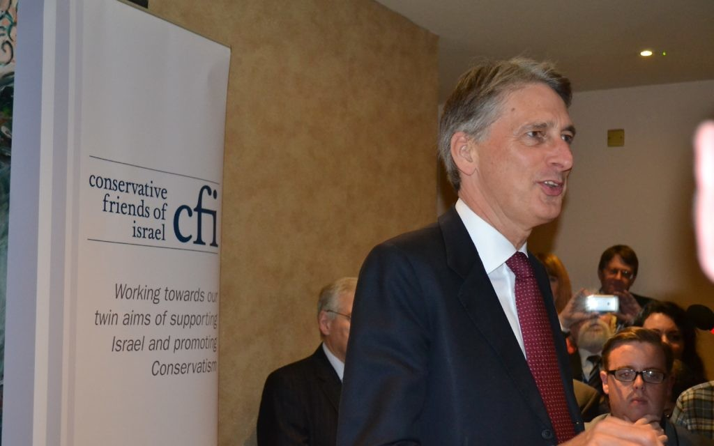 Foreign secretary, Philip Hammond