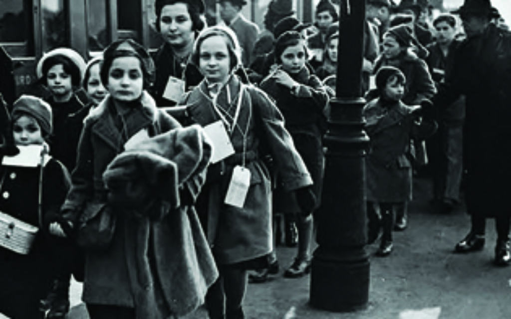 Viennese children on their arrival in London.   Photo courtesy of the Austrian National Library