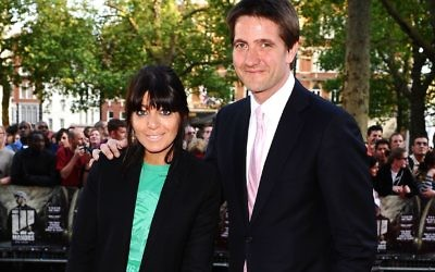 Claudia Winkleman and her husband Kris Thykier.