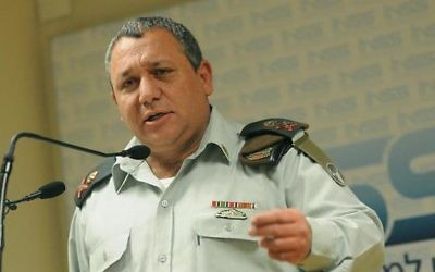Former head of the IDF, Gadi Eizenkot