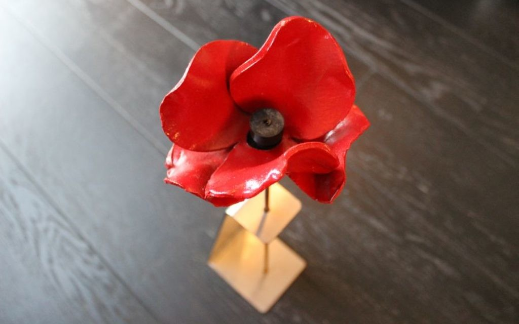 The Poppy Stand, by Metalcraft Ltd
