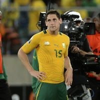 Dean Furman in South African colours