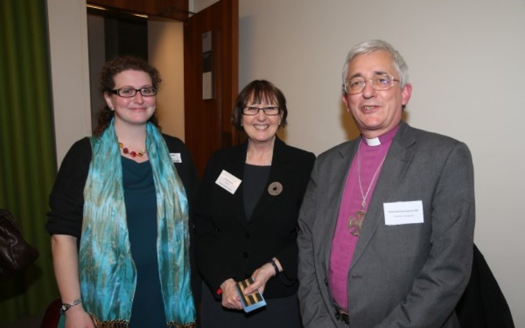 Rabbi Debbie Young-Somers, Dr Jane Clements, Rt Revd Dr Michael Ipgrave