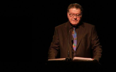Yanky Fachler at a past Holocaust Memorial Day ceremony