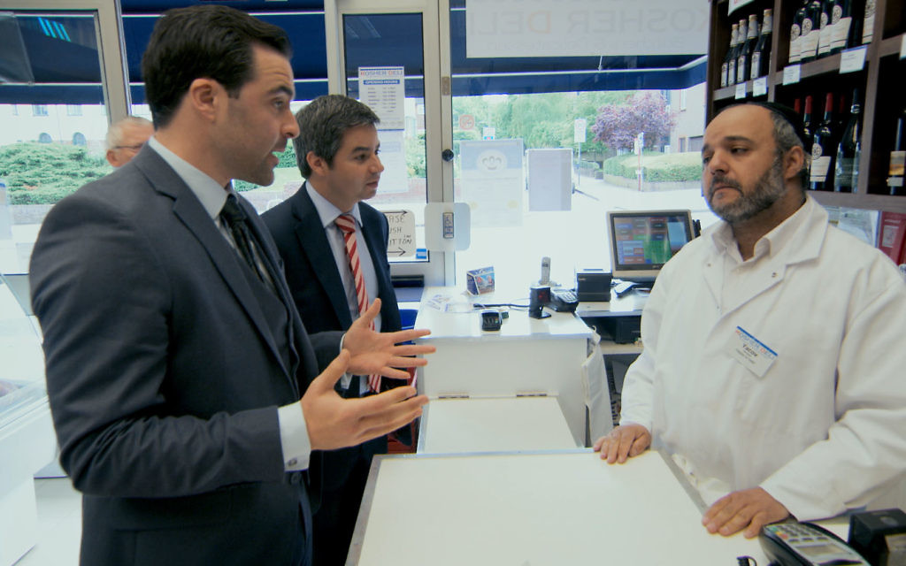Daniel tries to secure the best price for a kosher chicken in tonight's episode of The Apprentice