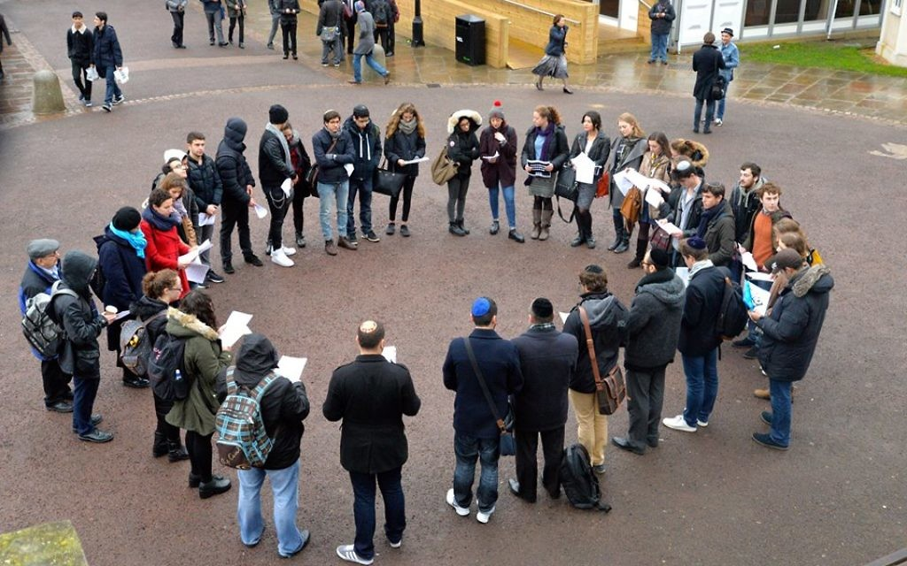 University College London hold a service on campus