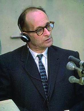 Adolf Eichmann at Trial