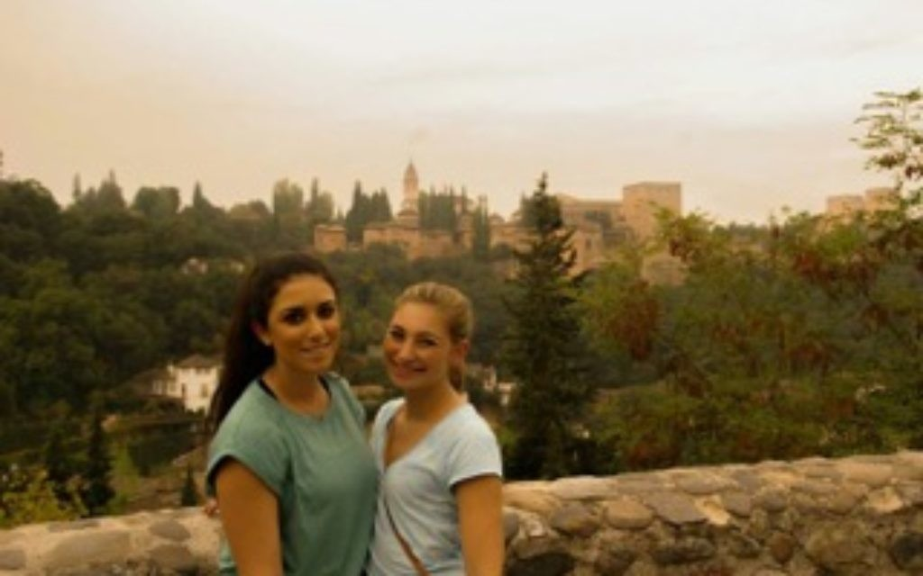 Overlooking the Alhambra Palace