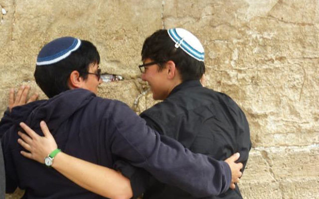 A trans experience at the Kotel