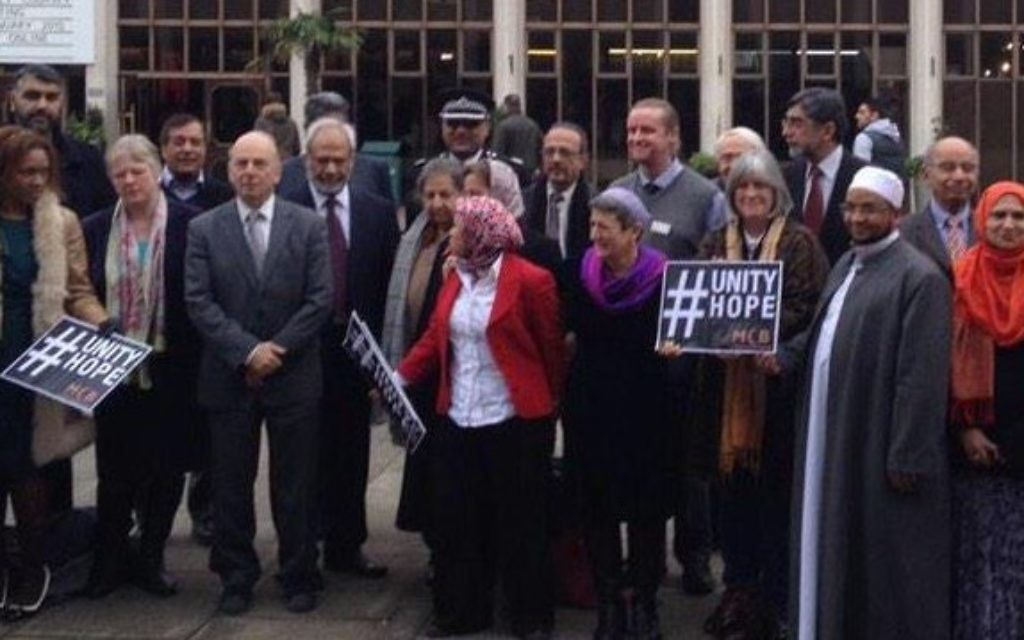 Interfaith leaders at Regent's Park Mosque during a Unity Hope meeting.