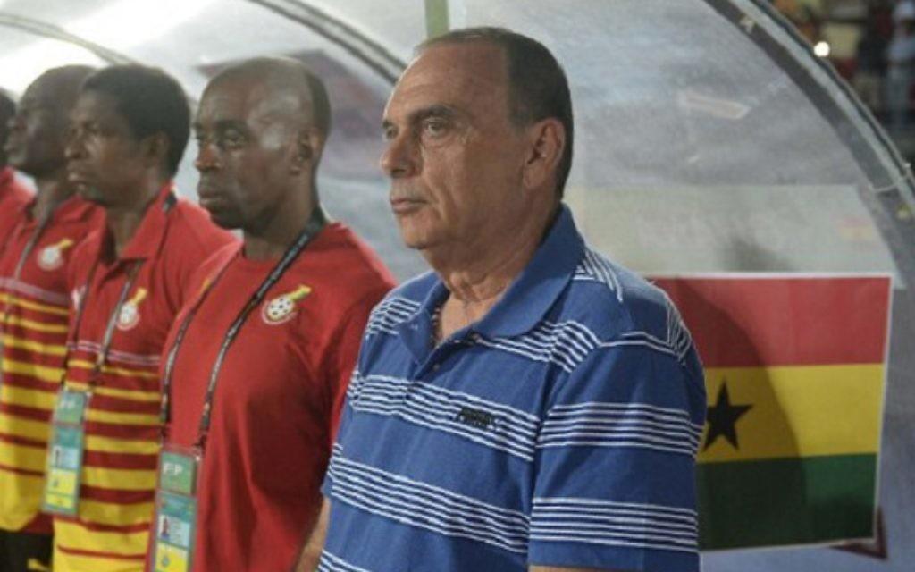 Ghana coach Avram  Grant
