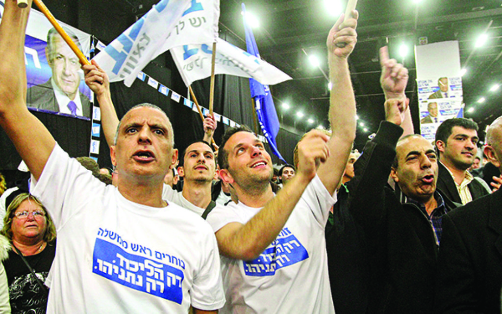 "Prime Minister Benjamin Netanyahu's Likud party was the clear winner in Tuesday's election, a near-final tally showed early Wednesday morning, defeating the Zionist Union by a margin of some six seats.  As the exit poll results were announced on the nation's three major TV stations, celebrations erupted at Likud's campaign headquarters in Tel Aviv. Netanyahu arrived at 1 a.m.with his wife sara, claimed his victory ""against all odds"" and promised to form a new government without delay.  תומכי ליכוד בגני התערוכה לאחר פרסום תוצאות המדגם רה""מ נתניהו ואשתו שרה היגיעו ב 01:00  נצחון הליכוד בבחירות"