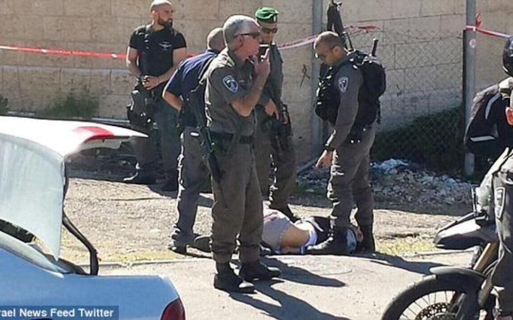 """Police spokeswoman Luba Samri described Friday morning's assault as a """"terror attack""""."""