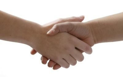Handshakes could be a subtle way to pick up and sample chemical scent signals, according to the researchers.