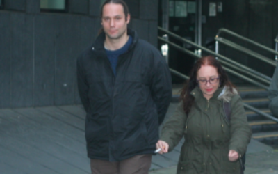 Robert De Jonge and Roberta Moore at Highbury Corner Magistrates'