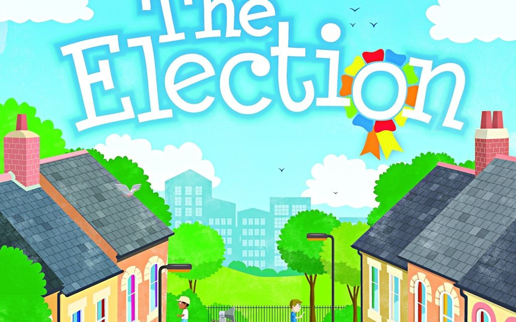 he Election, a book by Eleanor Levenson, who has always been interested in politics