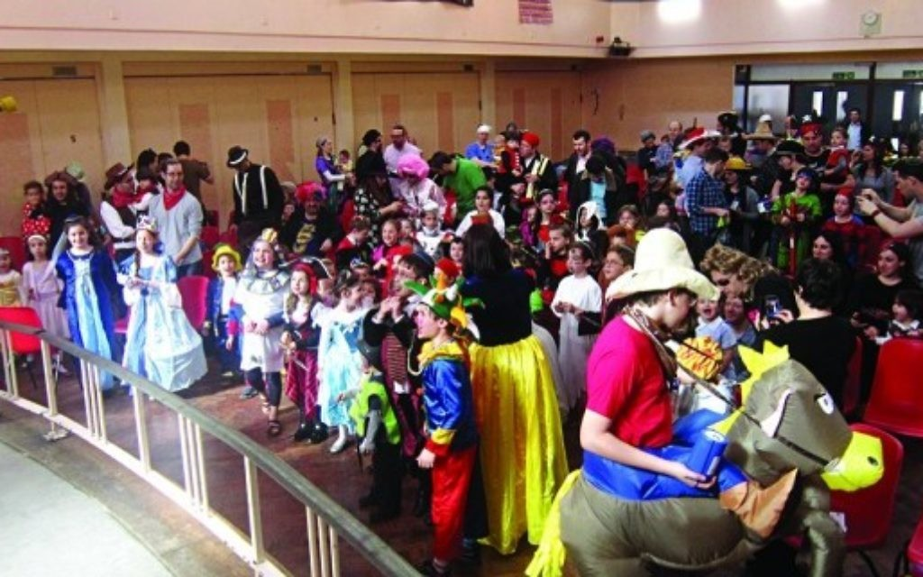 Purim at Hendon Shul