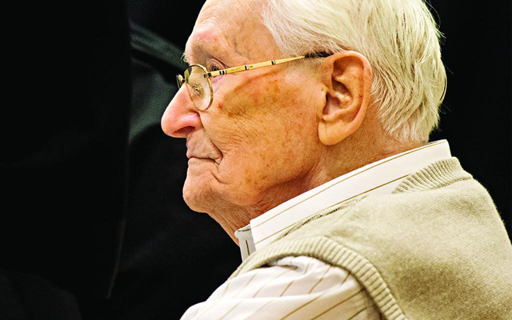 Oskar Groening in court