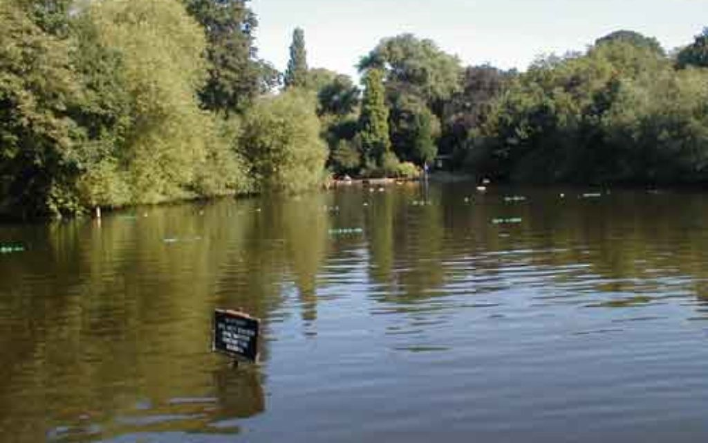 Hampstead Heath pond. The body was recovered by specialist officers from the Marine Policing Unit just before 11pm on Wednesday.