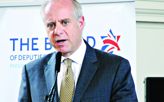 Jonathan Arkush, Outgoing President of the Board of Deputies