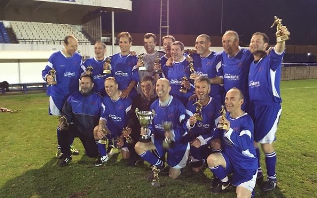 London Lions Masters won a league and cup double last season.