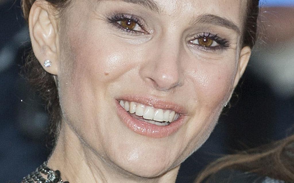 Israeli-American actress Natalie Portman