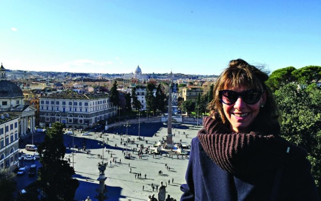 The view from Rome's Piazzo del Popolo