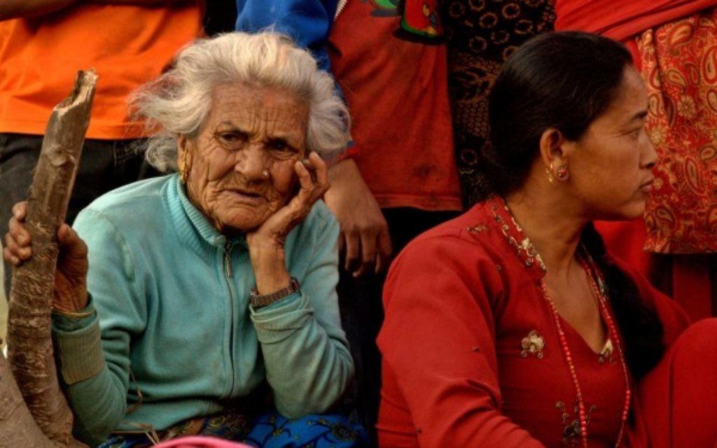devastation - Kathmandu