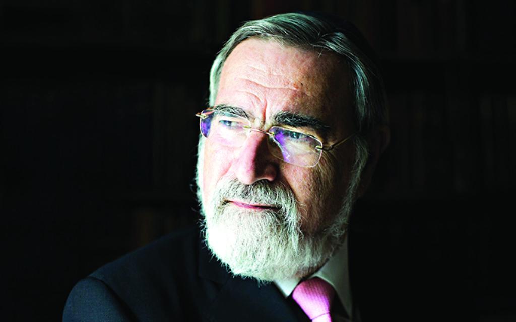 Chief Rabbi, Lord Sacks.  Credit: Blake Ezra