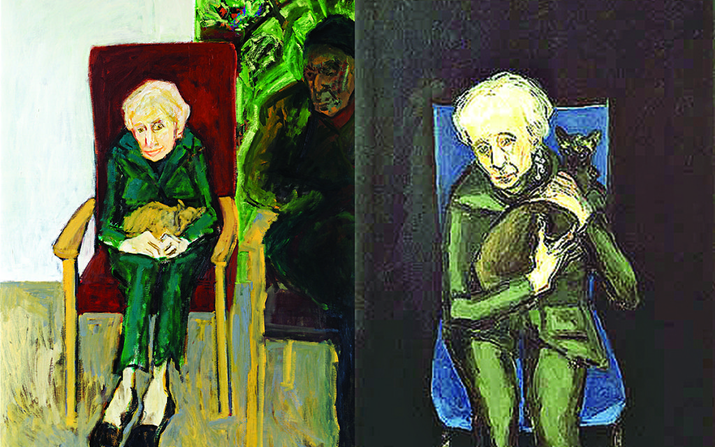 Evocative portraits of Julie's mother as she would have been