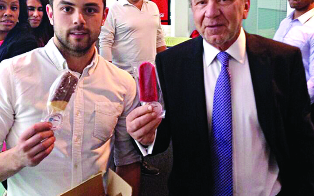 Cesar Roden appeared with business mogul Lord Sugar on The One Show